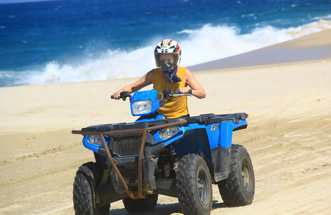 ATV Beach & Dunes Adventure Tour Double | Altus Tours