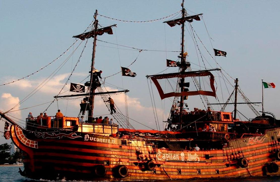 Capitan Hook | Cancun City & Tours