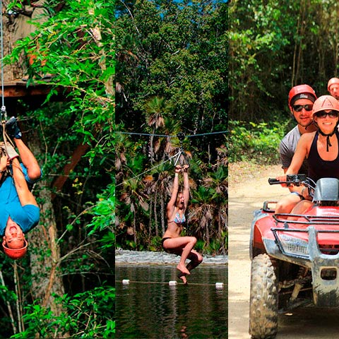 Extreme Adventure Shared | Altus Tours Cancun