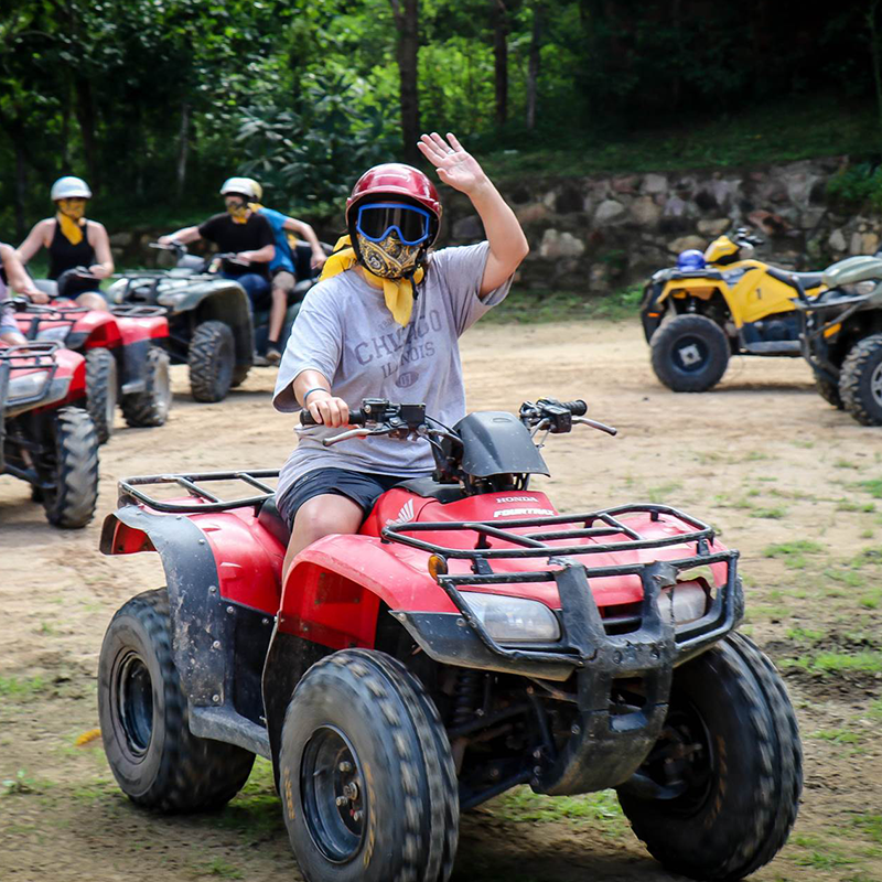 Atv Tour Jungle Adventure Shared | Altus Tours Cancun