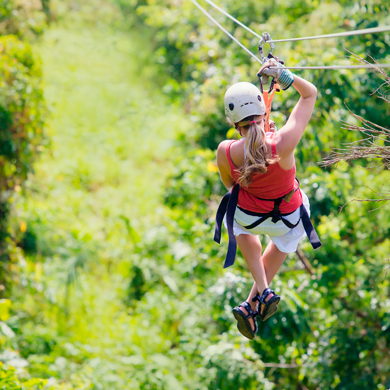 3x1 Combo Zipline, ATV shared and Cenote  | Altus Tours Cancun