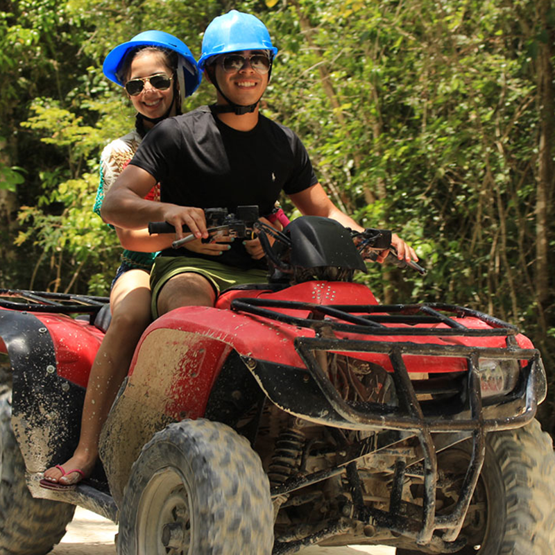 Amazing Combo ATV Shared  | Altus Tours Cancun