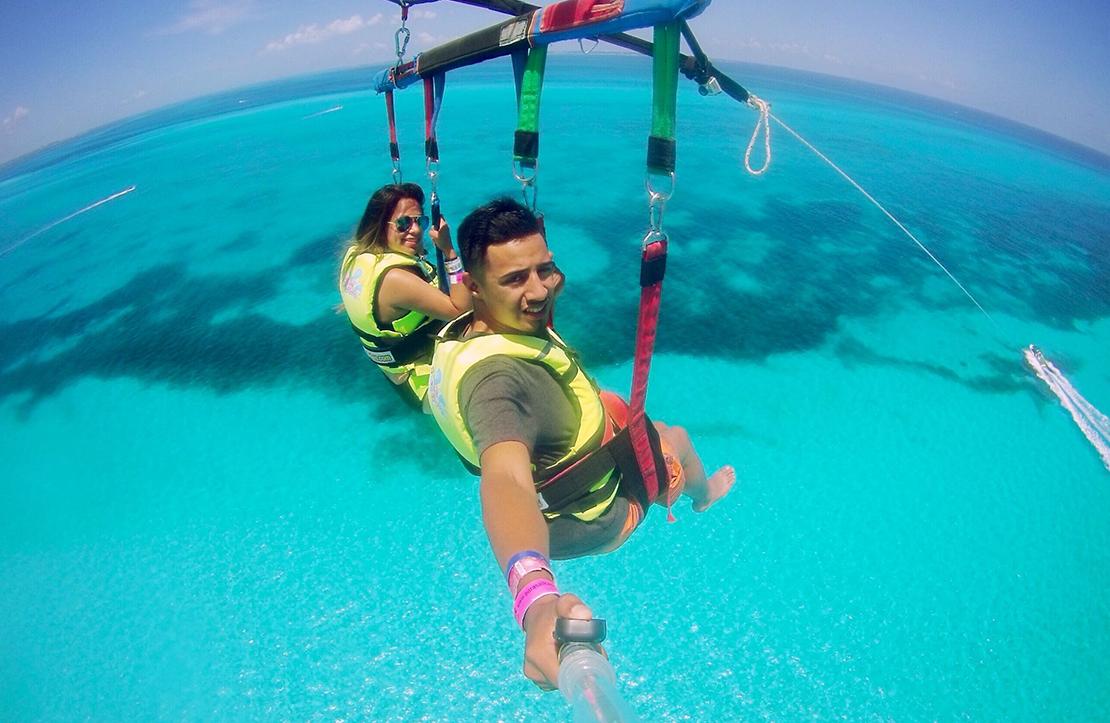 Parasail Cancun    Cancun City & Tours