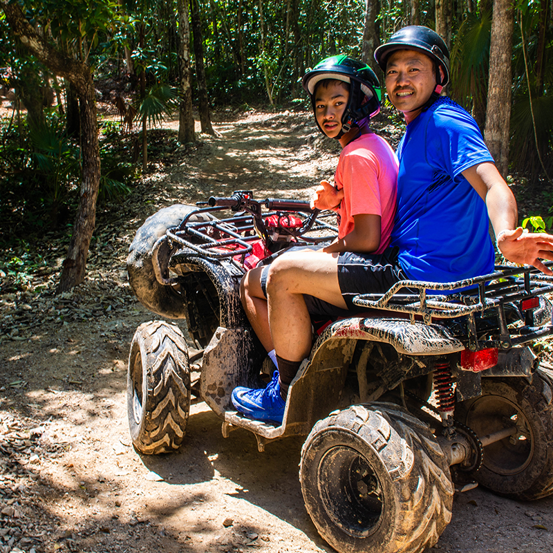 Combo 3x1 Atvs Shared, Horseback Riding and Cenote | Altus Tours Cancun