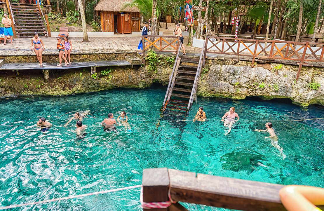 Tour 5x1 Cenotes  | Cancun City & Tours